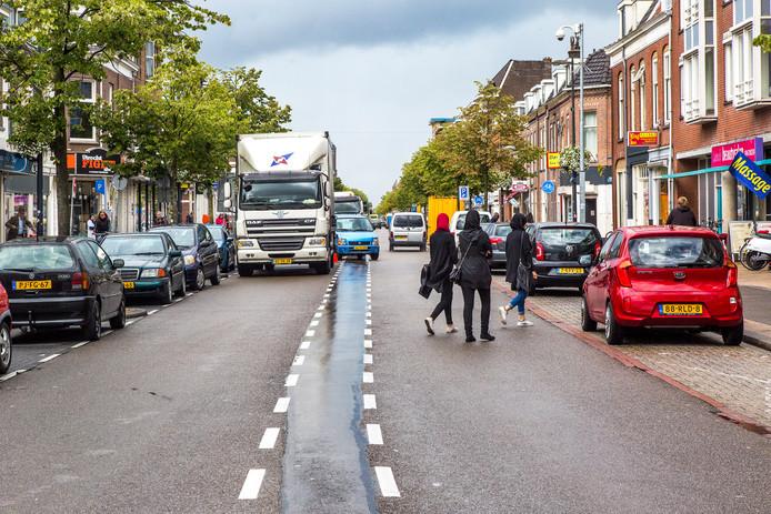 De Amsterdamsestraatweg in Utrecht.
