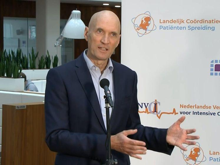 Ernst Kuipers: Opgenomen covidpatiënten stijgt met 86