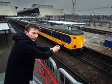 Perrongeluk op station Breda