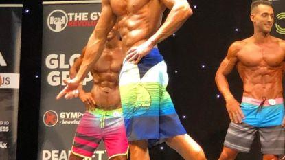 Yoni Deboes haalt podiumplaats op EK bodybuilding