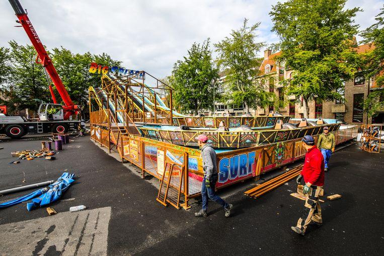 Brugge opbouw meifoor