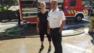 Junior Bauwens snuift sfeer op bij brandweer