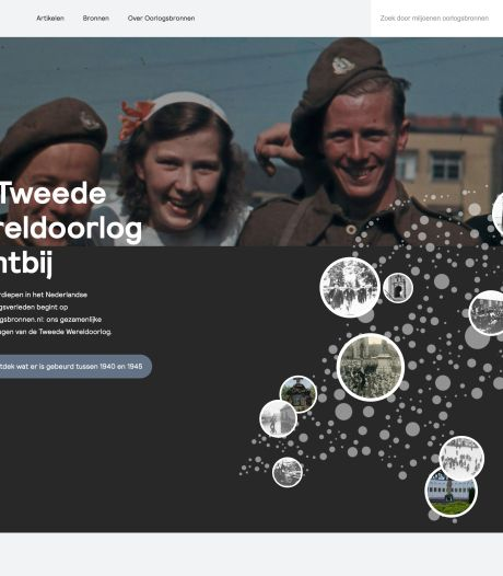 Doorklikbare oorlogsinformatie: oorlogsbronnen.nl is 'klaar voor de digitale generatie'