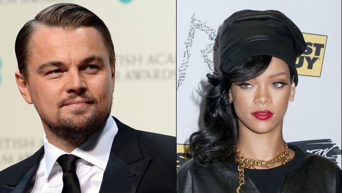 Leonardo Dicaprio en Rihanna.