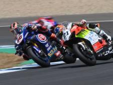 Van der Mark moet genoegen nemen met vijfde plek bij eerste race in Aragón