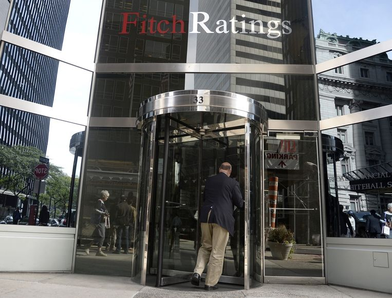 Het kantoor van Fitch in New York. Beeld epa