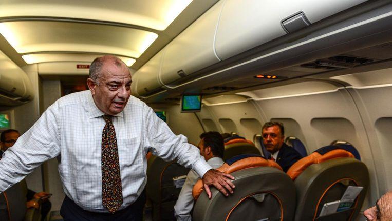 De Turkse vice-premier Tugrul Türkes in 2015. Beeld getty