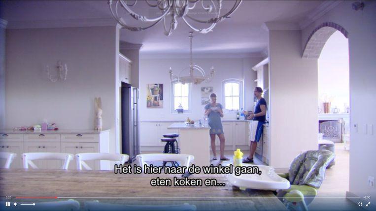 Regi Penxten zijn huis in Zuid Afrika