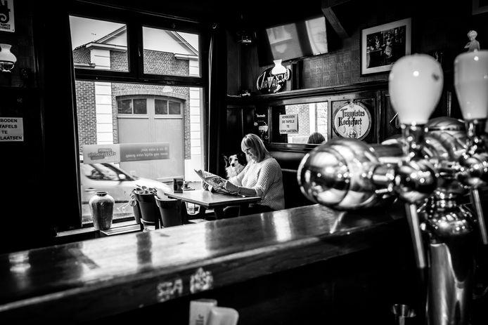 Greet Jacques en Sky van café Sint-Annakamer.