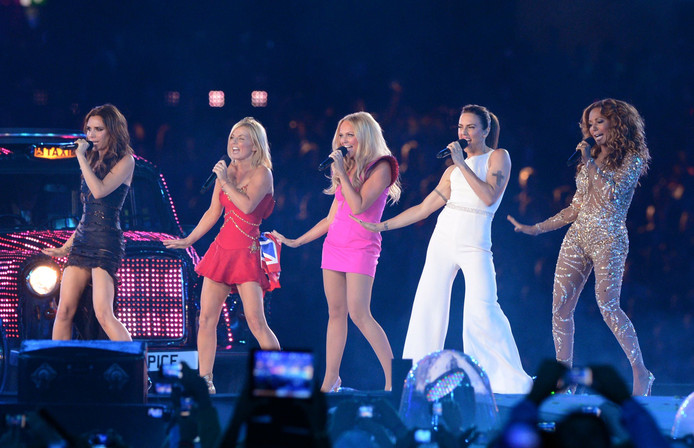 The Spice Girls in 2012.