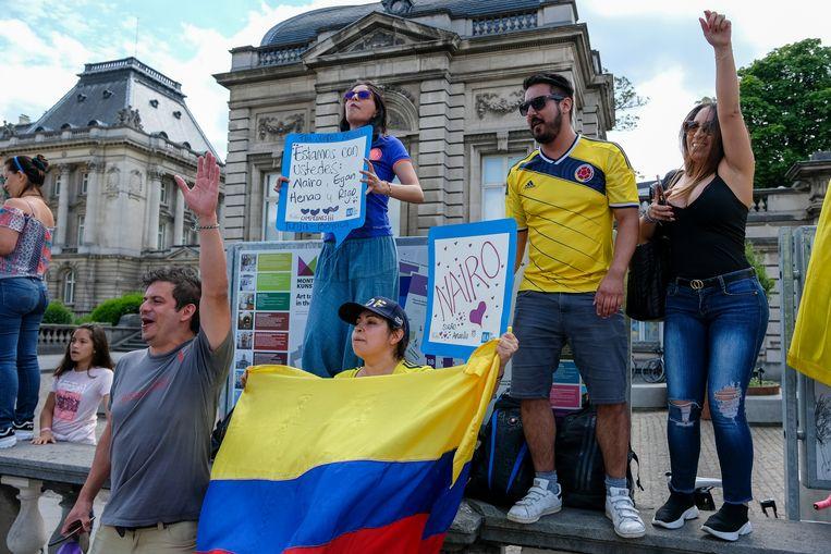 Ronde van Frankrijk: Columbiaanse supporters