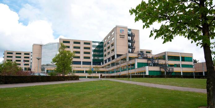 Ziekenhuis Rijnstate in Arnhem.