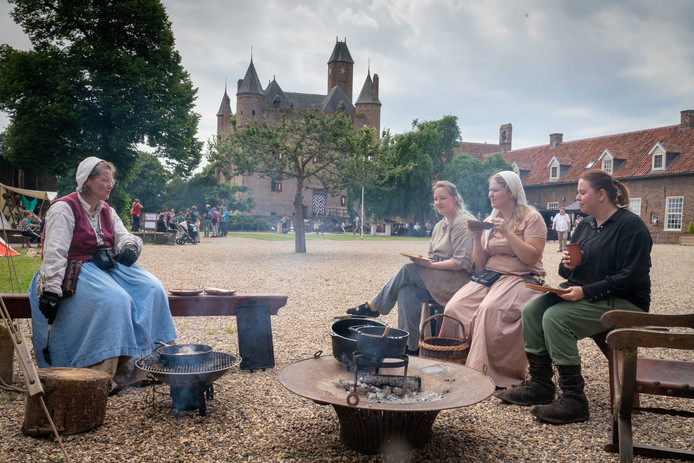 Terug in de tijd op Kasteel Doornenburg.