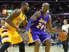 LeBron in voetsporen Bryant: 'Ik beloof je legacy voort te zetten'