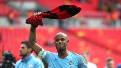 Vincent Kompany kondigt afscheid bij Manchester City aan