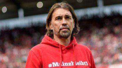 Mainz zet trainer Schmidt aan de deur na teleurstellend seizoen