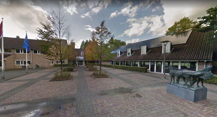 Het gemeentehuis van Geldermalsen.