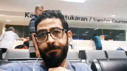 """Hassan (36) zit al 62 dagen vast in luchthaven van Kuala Lumpur: """"Ik ben bang dat ik hier voor altijd moet blijven"""""""