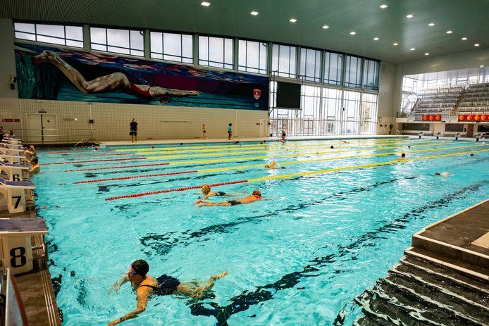 Het Wezenbergzwembad heropent net als de andere baden in Antwerpen op 4 december.