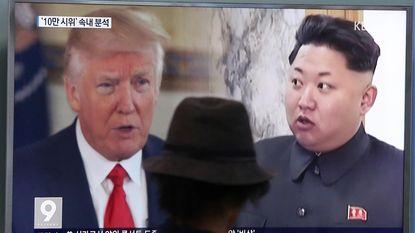 """Trump verhoogt druk op Noord-Korea nóg meer: """"Alles staat klaar om militair in te grijpen"""""""