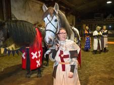 Diana (40) ziet als ridder droom in vervulling gaan