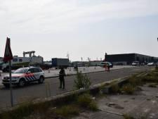 Gewapende politie en douane voeren actie uit op Panamees schip in Vlissingse haven