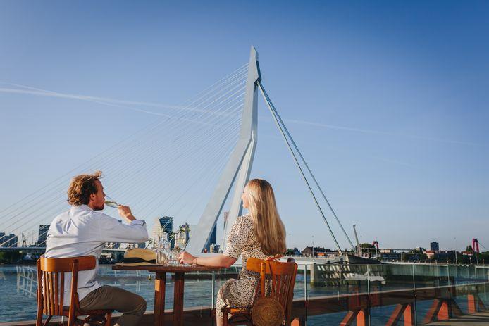 Terrassen krijgen de ruimte in Rotterdam.