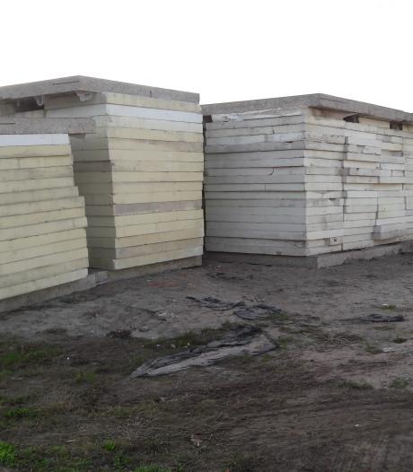 Dader ruimt alsnog bouwafval in Oldenzaal op
