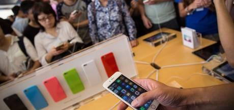 Files d'attente pour l'iPhone 6 au Japon