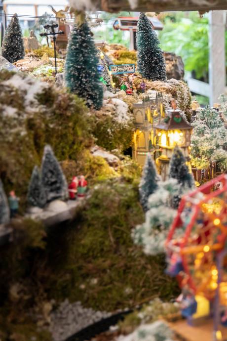 Vrede op aarde, maar in het kerstdorp is het hommeles