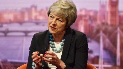"""May waarschuwt parlementsleden voor """"onbekend terrein"""" als ze brexitakkoord verwerpen"""