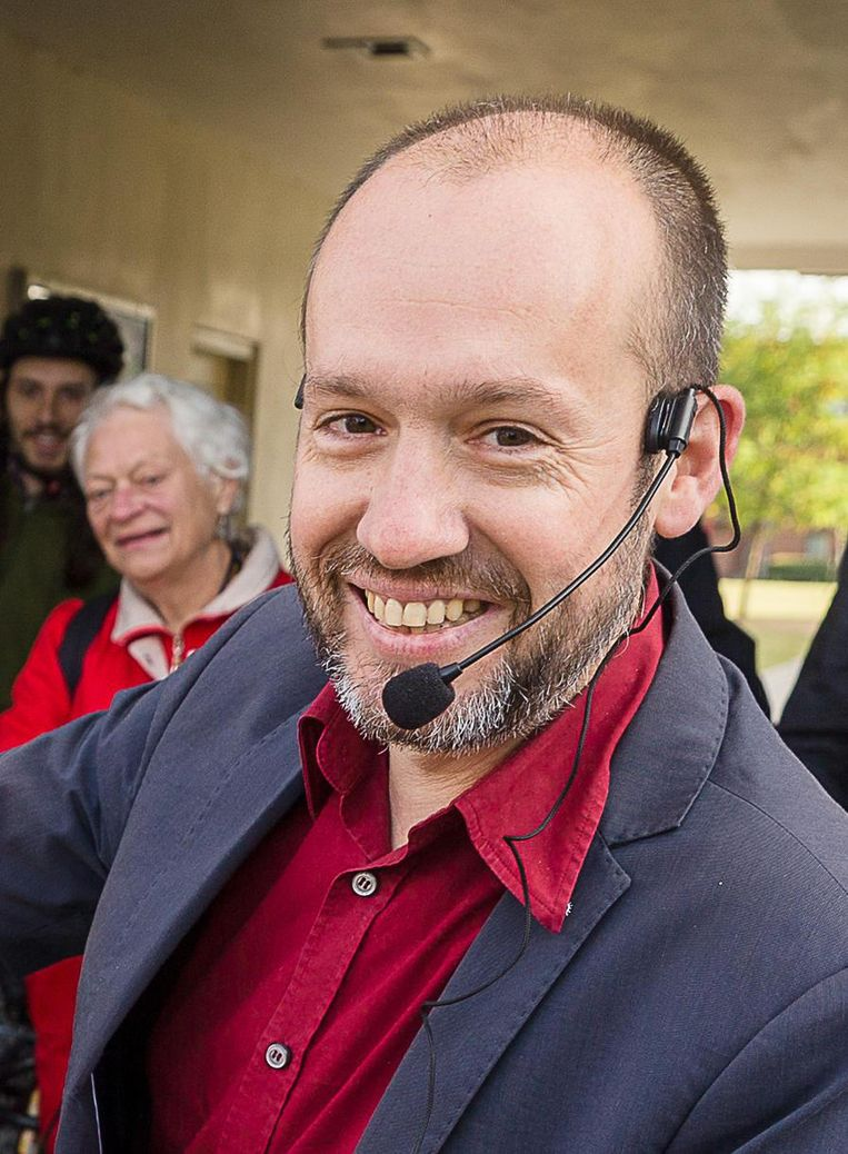 Tom De Meester, fractieleider voor PVDA