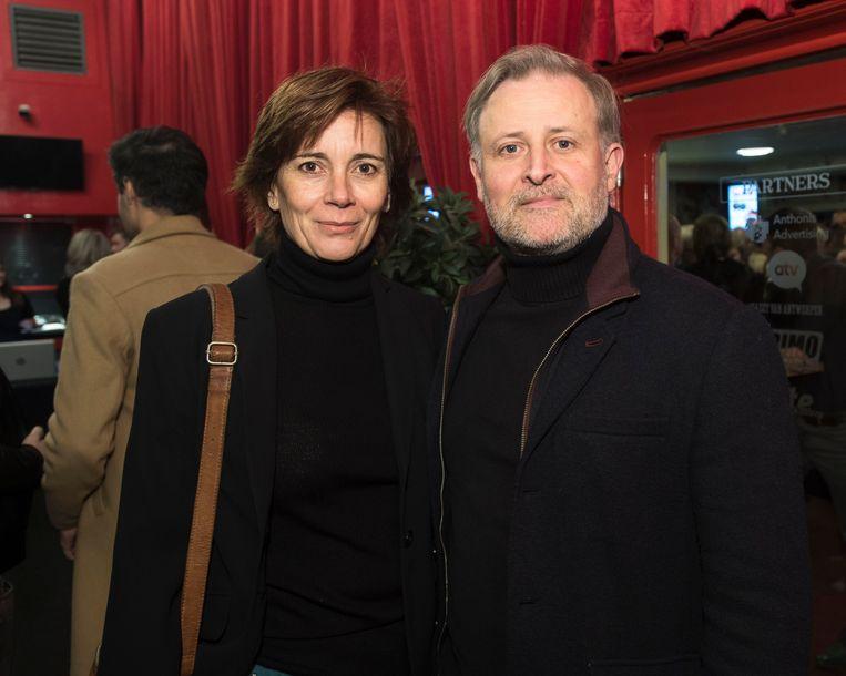 Bert Cosemans en zijn vrouw Marijke Hofkens