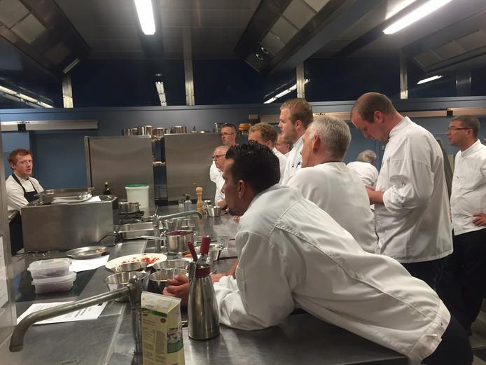 Masterclass koken in het Elisabeth-TweeSteden Ziekenhuis.