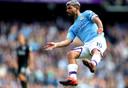 Manchester City-spits Sergio Agüero kan zaterdagavond na José Antonio Reyes en Wayne Rooney de derde speler worden die in de eerste vijf speelrondes scoort in de Premier League.