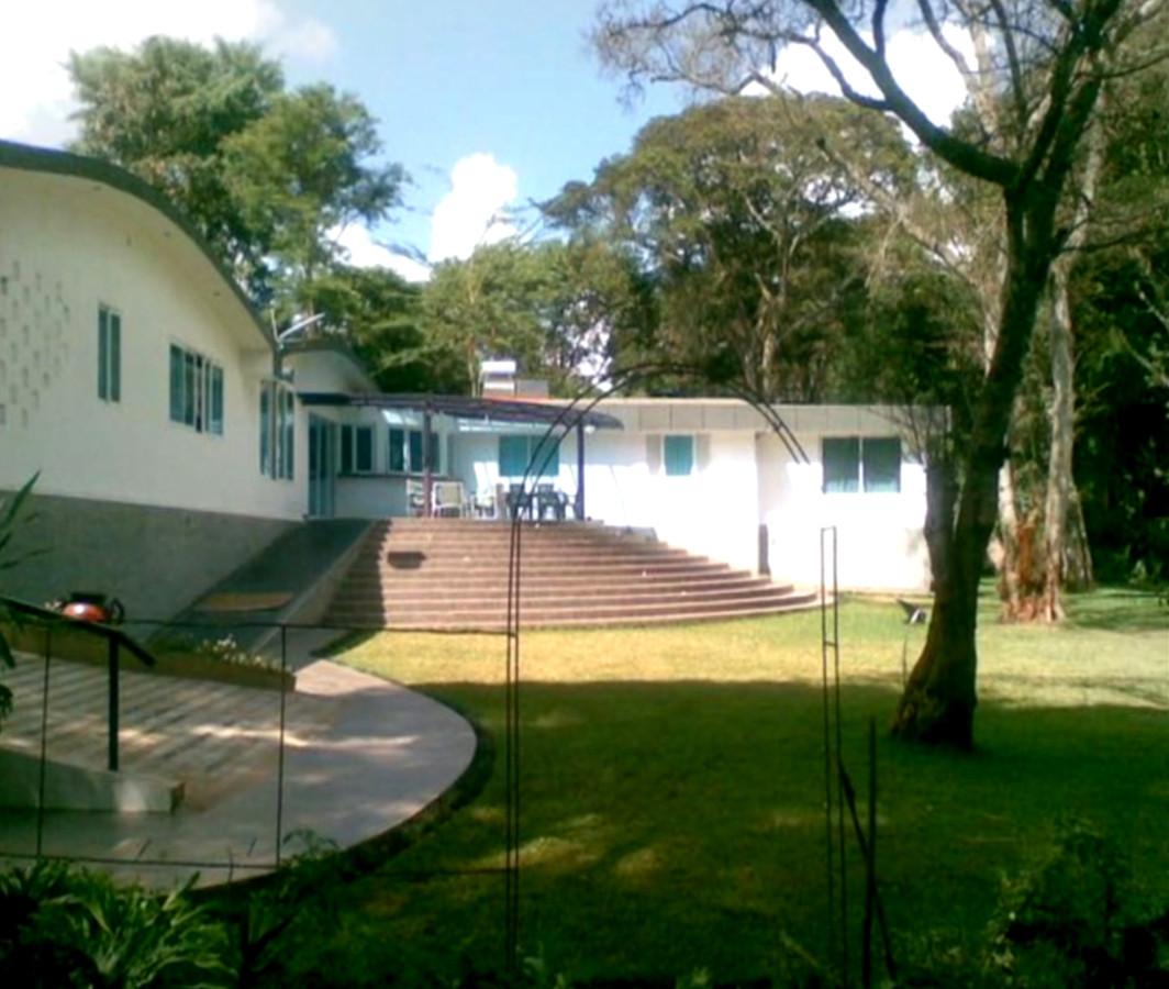 De villa waar Tob Cohen met zijn Keniaanse echtgenote woonde.