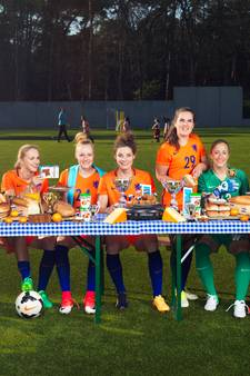 De voetbalvrouwen die ons vertegenwoordigen op het EK