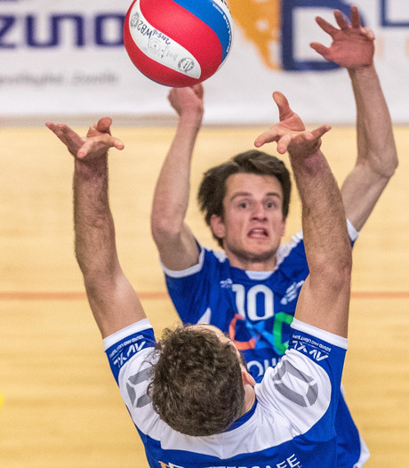 Voor Topvolleybal Zwolle verandert er niets
