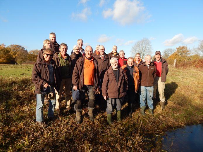 De werkgroep die zich inzet voor ontwikkeling en behoud van de Maasheggen.