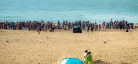Des incidents sur la plage à Ostende, la police massivement sur place