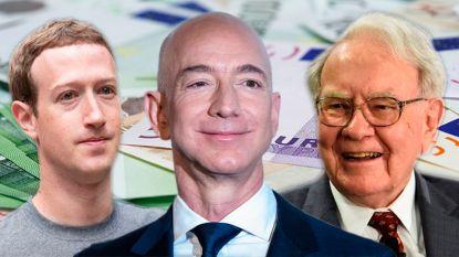 Zoveel verdienen de rijkste mensen ter wereld per uur