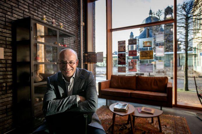 Directeur Theo de Veer van het Kunstkwartier in Helmond.