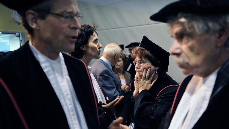 Door de achterstelling lopen vrouwen in de wetenschap in Nederland miljoenen mis, concludeert het Landelijk Netwerk Vrouwelijke Hoogleraren in zijn jaarlijkse rapportage. Beeld Marcel van den Bergh/de Volkskrant