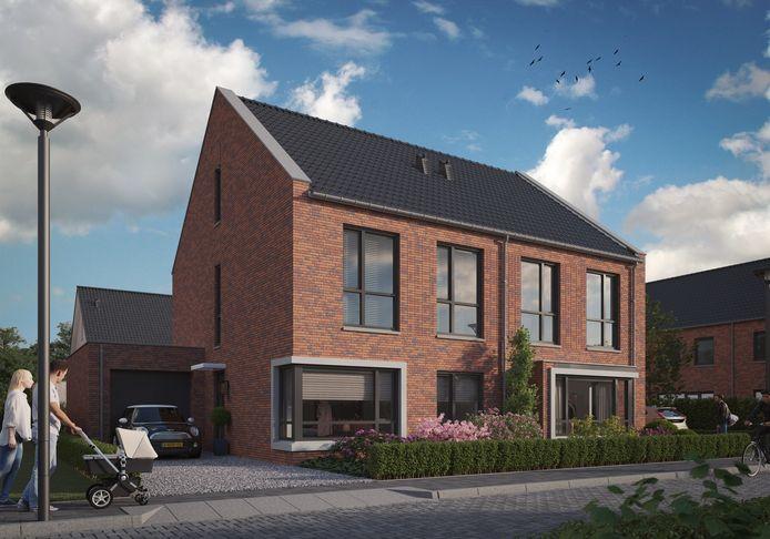 Bouwcombinatie Muller-Wagemakers bouwt in de Oijense Zij Noord zes twee-onder-een-kapwoningen, tien patiobungalows en 27 rijwoningen.