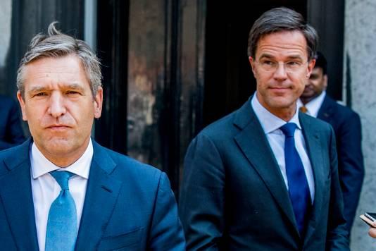 Mark Rutte (VVD) Sybrand Buma (CDA)