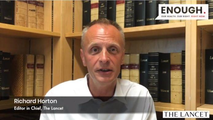 """Richard Horton, rédacteur en chef du """"Lancet"""""""
