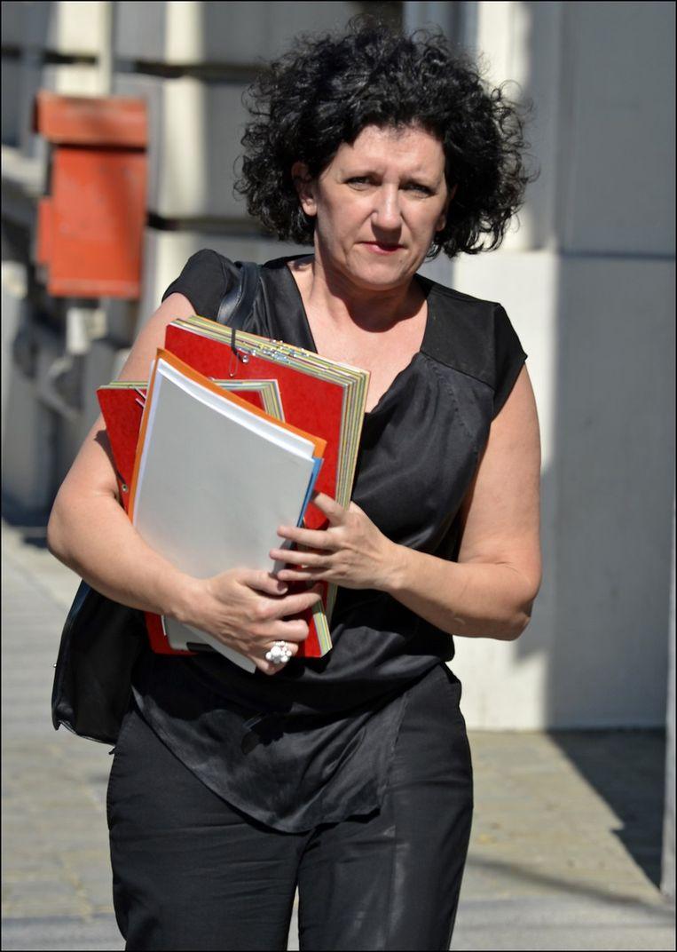 Minister van Justitie Annemie Turtelboom.