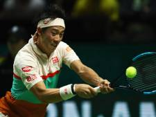 Nishikori tegen Wawrinka in halve finale