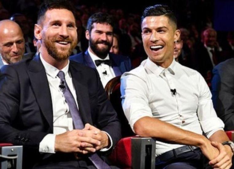 Messi en Ronaldo.