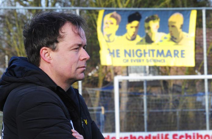 Hubert van den Hemel, trainer van Terneuzense Boys.